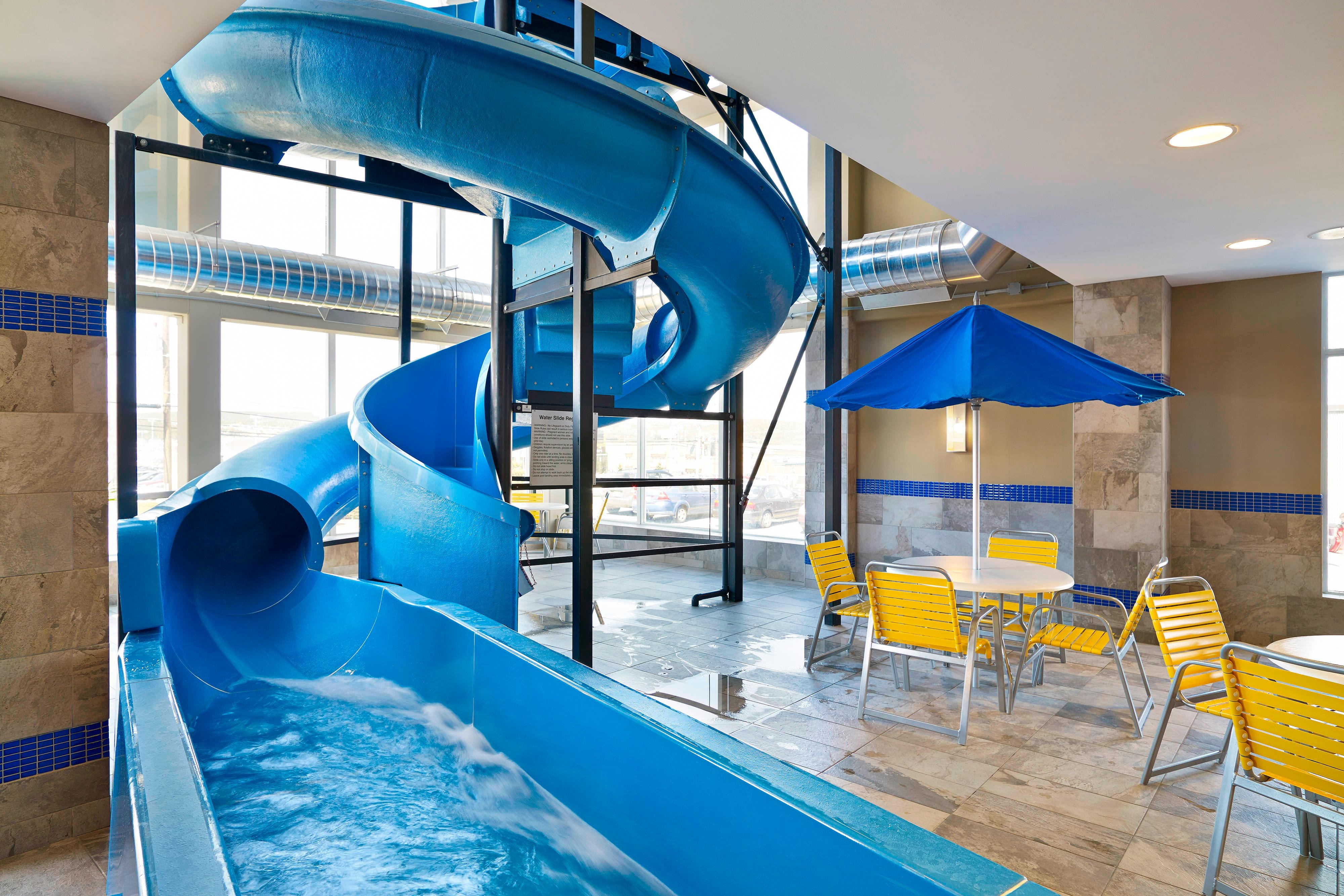 Newfoundland hotel with waterslide