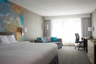 Hotel guest room Toronto