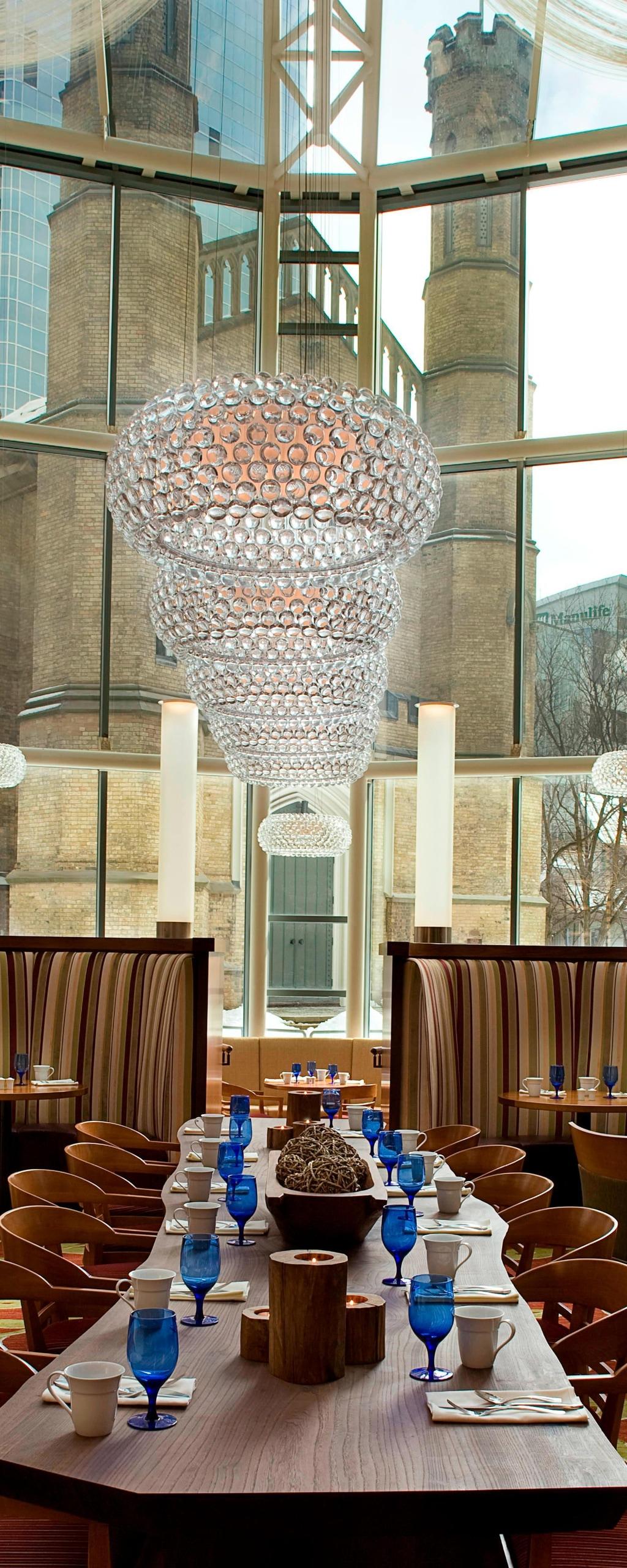 Restaurant im Eaton Centre in Toronto