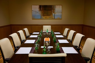 Downtown Toronto hotel boardroom