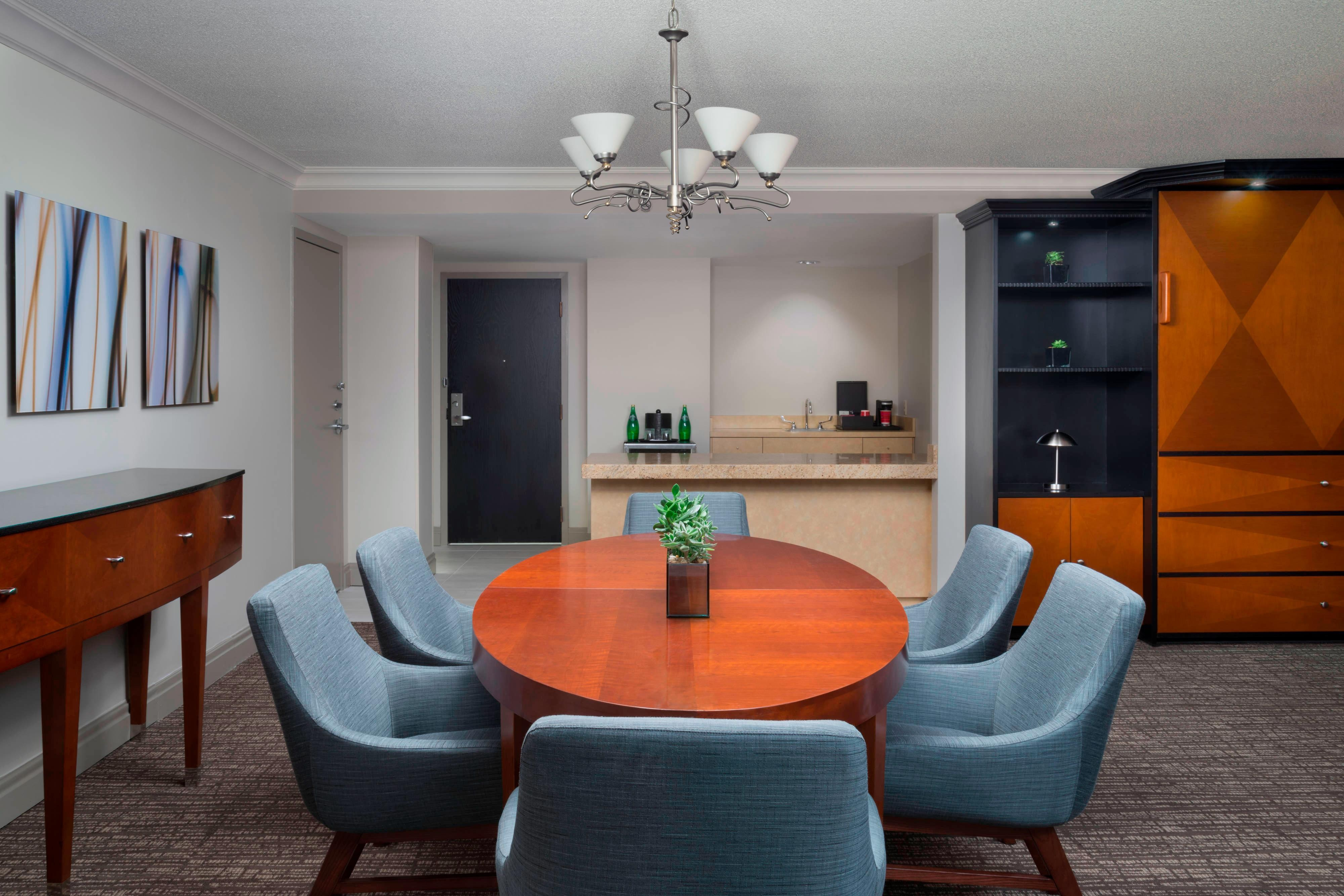 Conference Suite - Kitchen and Dining Area