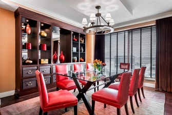 International Suite - Dining Room