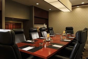Downtown Toronto meeting boardroom