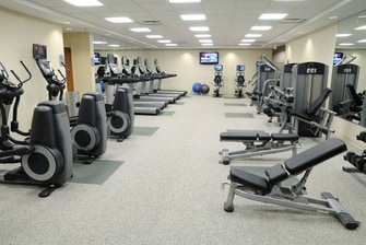 Downtown Toronto hotel fitness centre