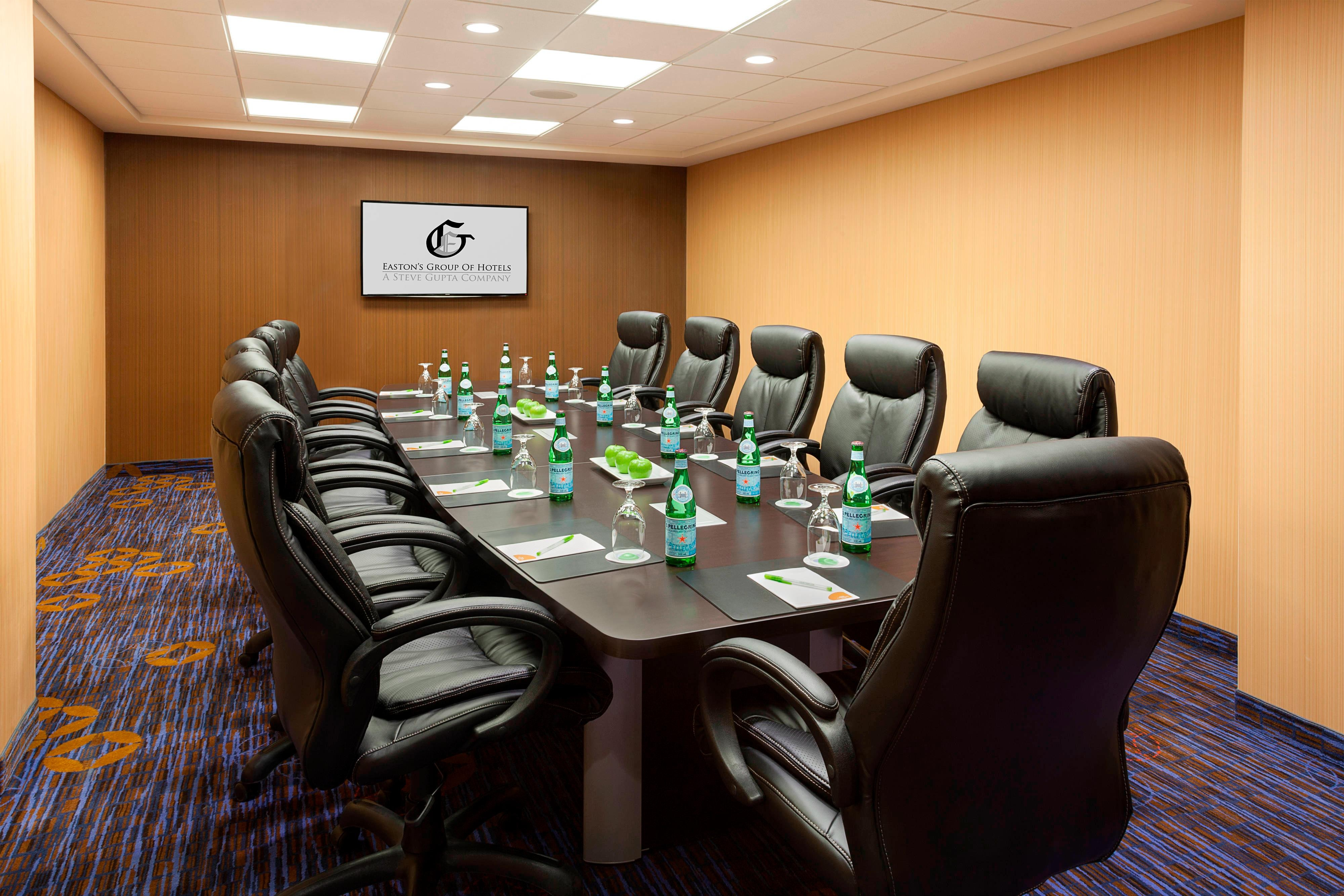 Boardroom in Markham business hotel