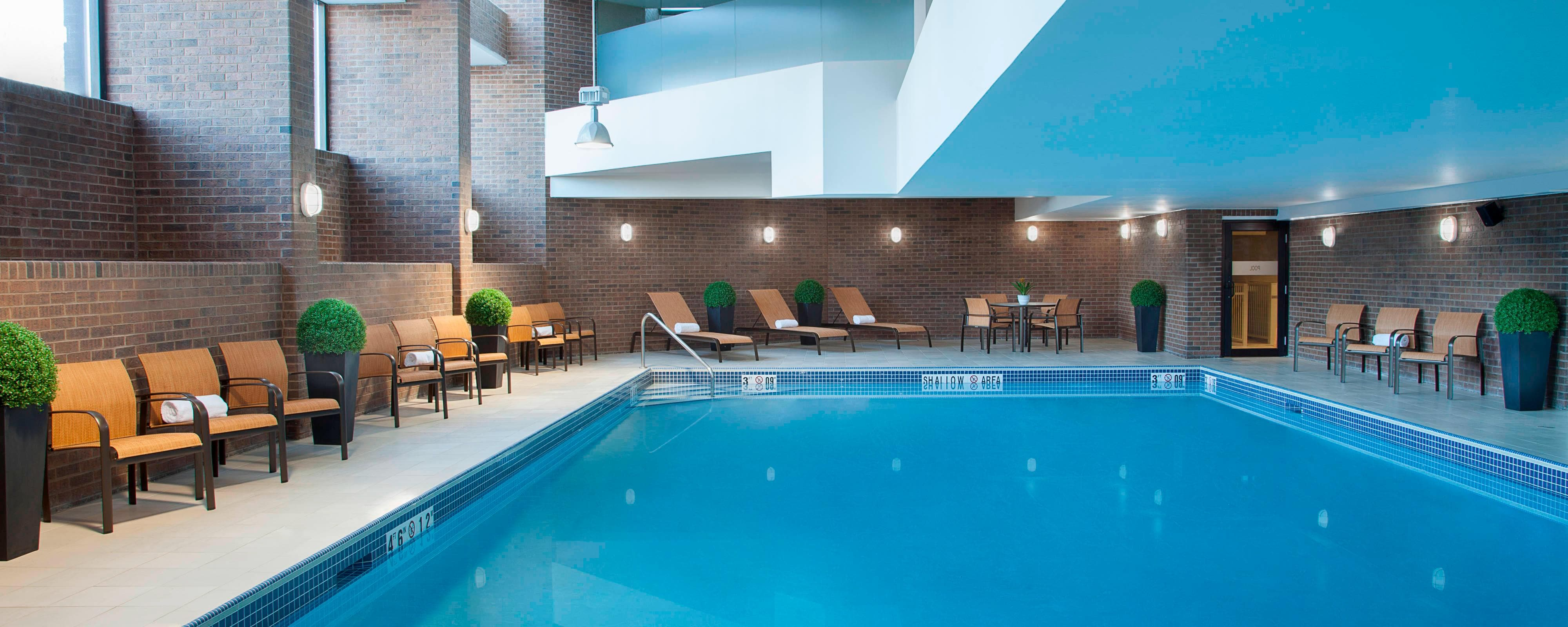Pool in Markham Hotel