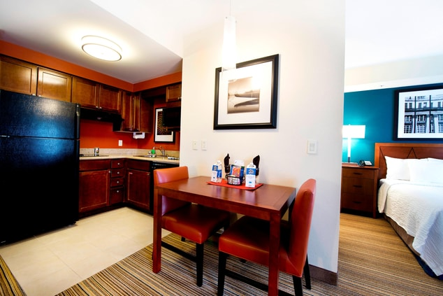 Studio & One-Bedroom Suite Kitchen