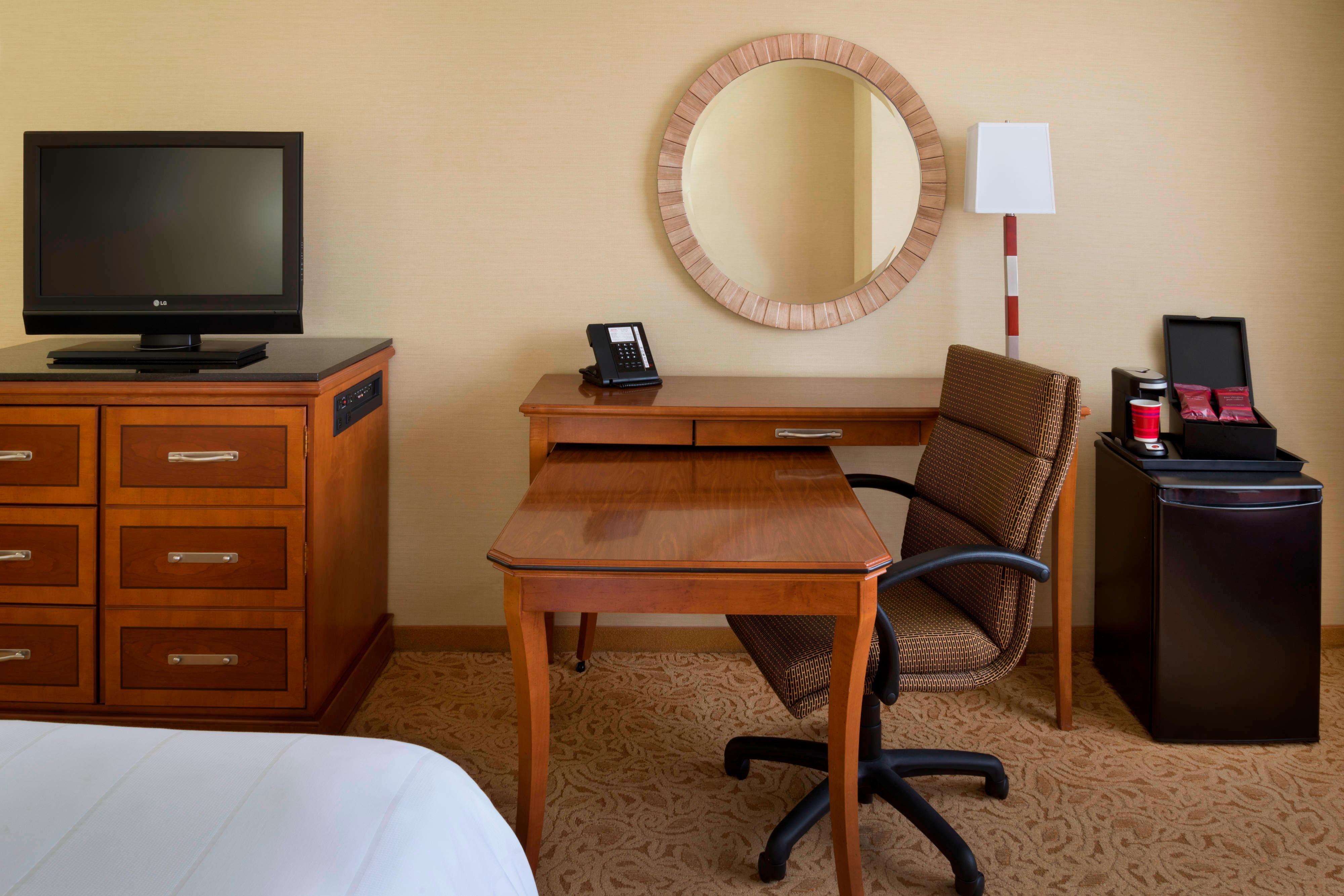 Mesa de trabalho do quarto