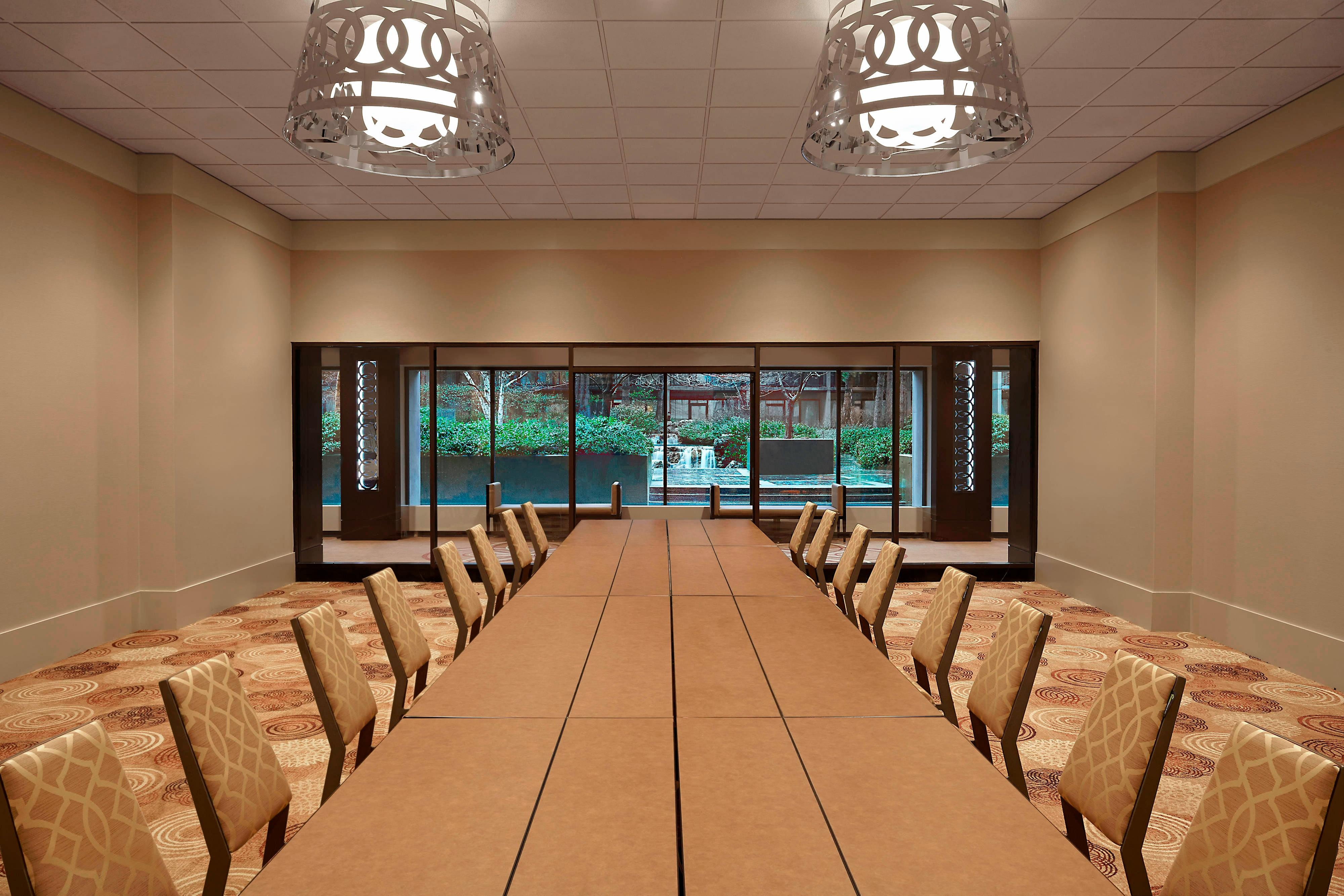 Garden Courtyard Meeting Room
