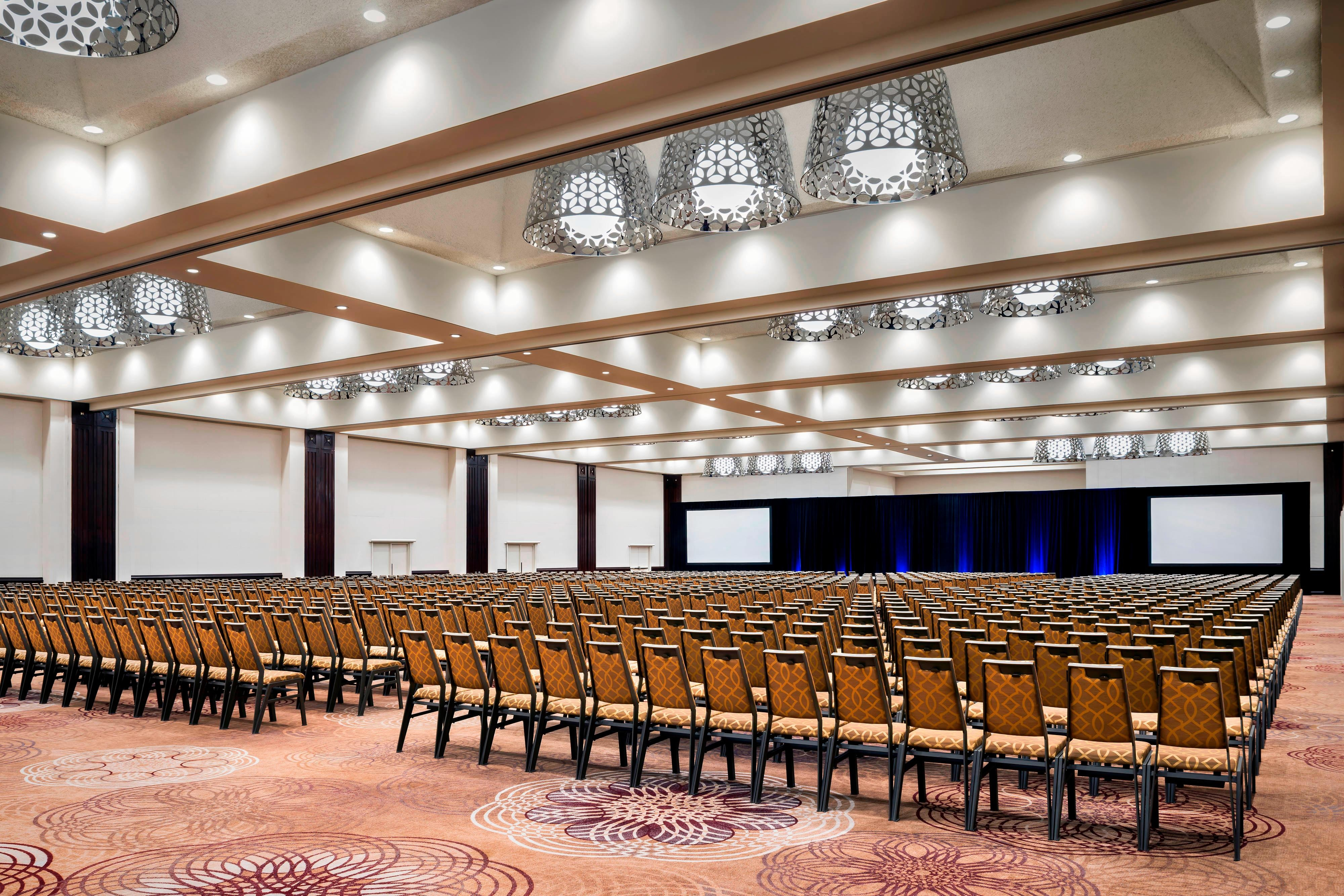 Grand Ballroom Theatre-Style Meeting