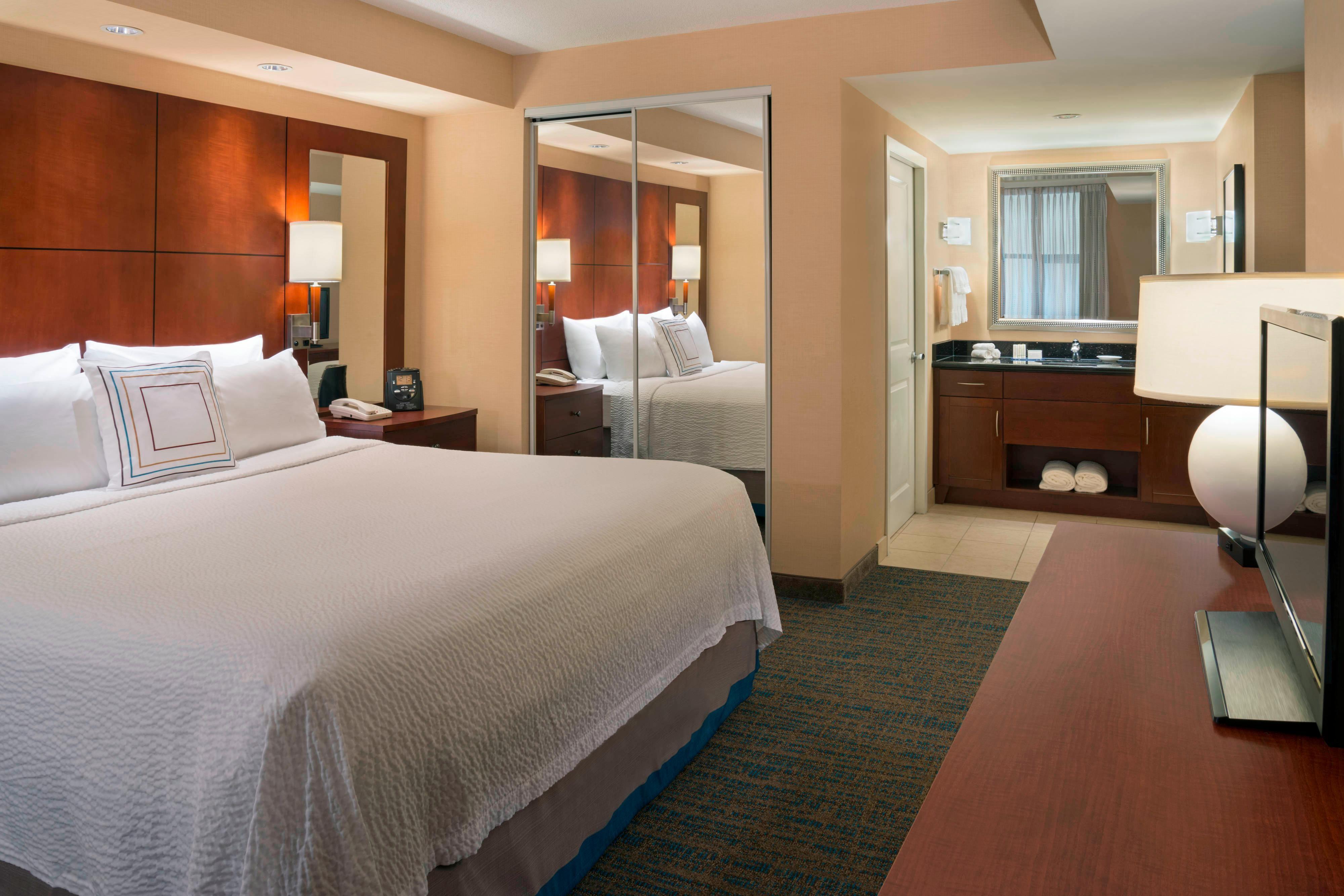 Suite à deux chambres de l'hôtel de Toronto