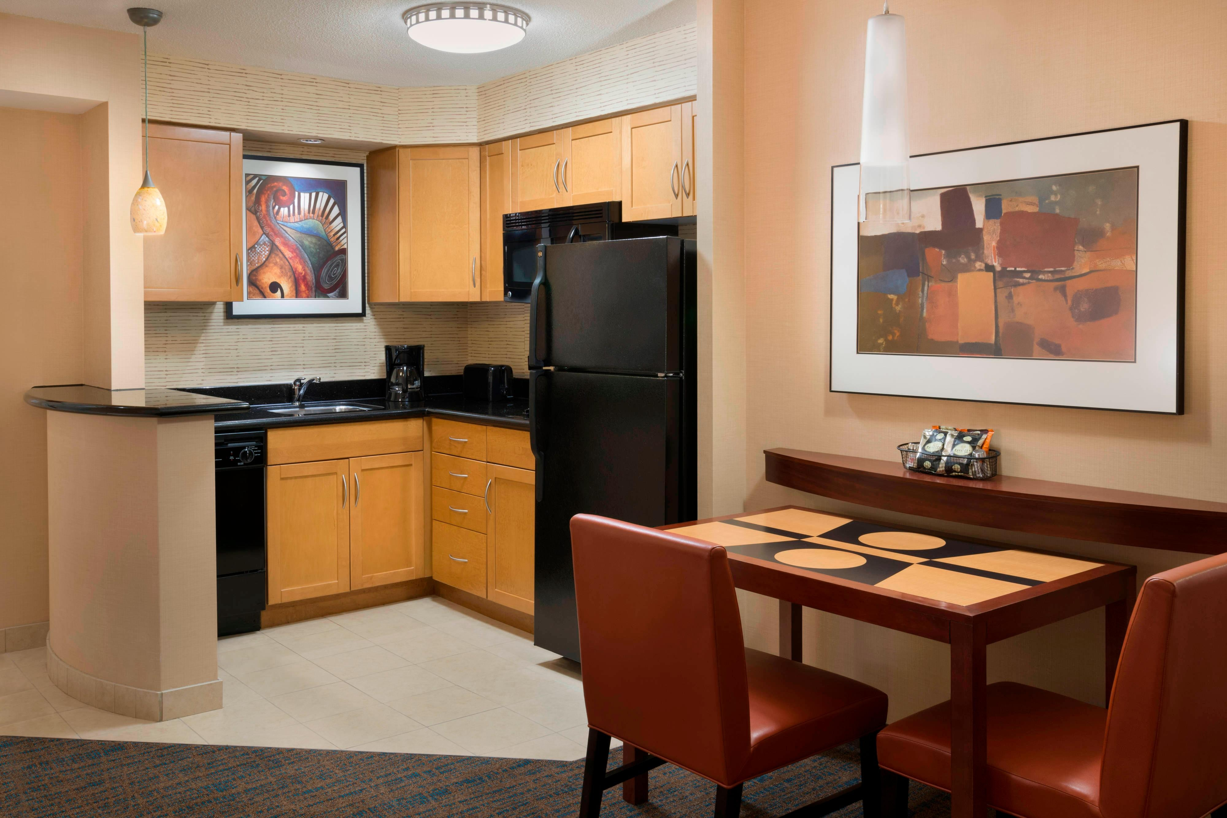 Make The Most Of Your Journey To Toronto. Studio Suite Kitchen Area