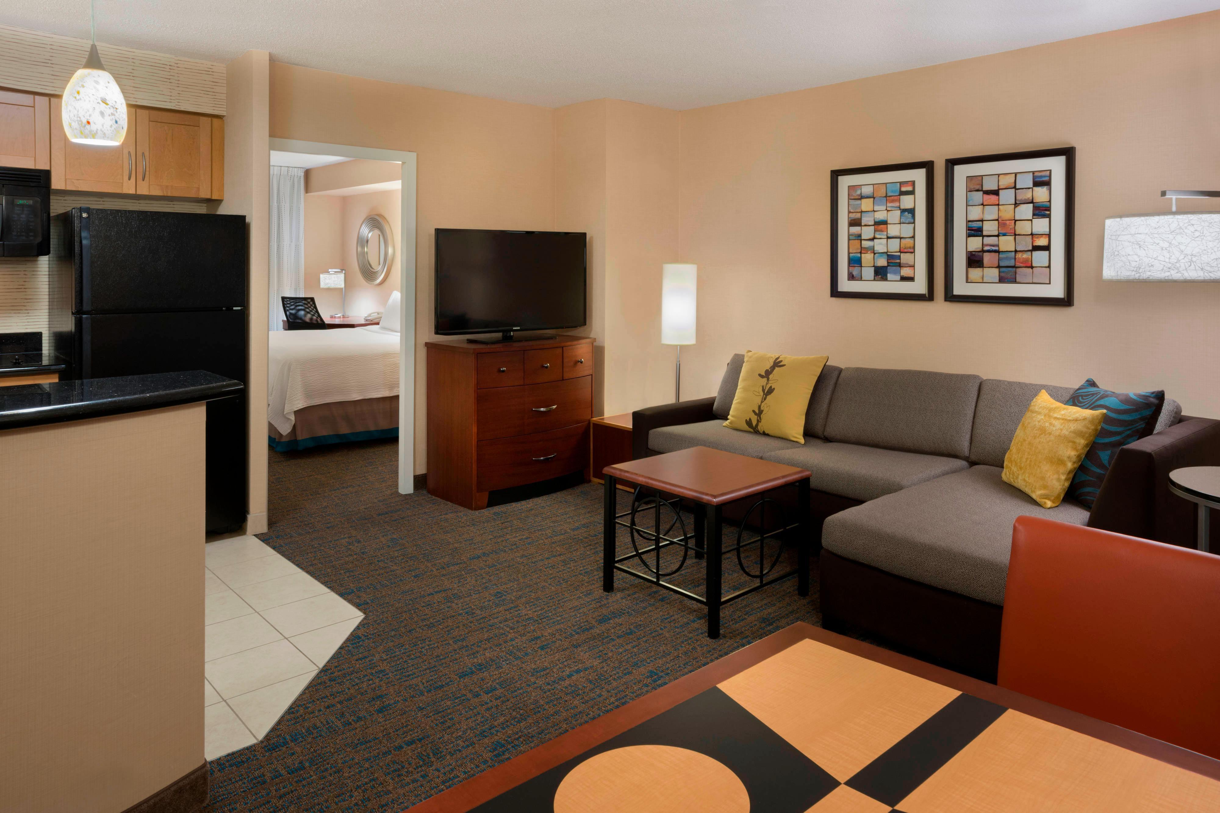 Suite de l'hôtel de l'Entertainment District de Toronto