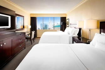 Double/Double Guest Room - Landmark View