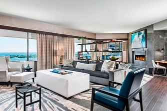 Harbour Suite - Living Room