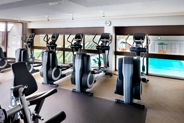 Westin Workout Treadmill and View