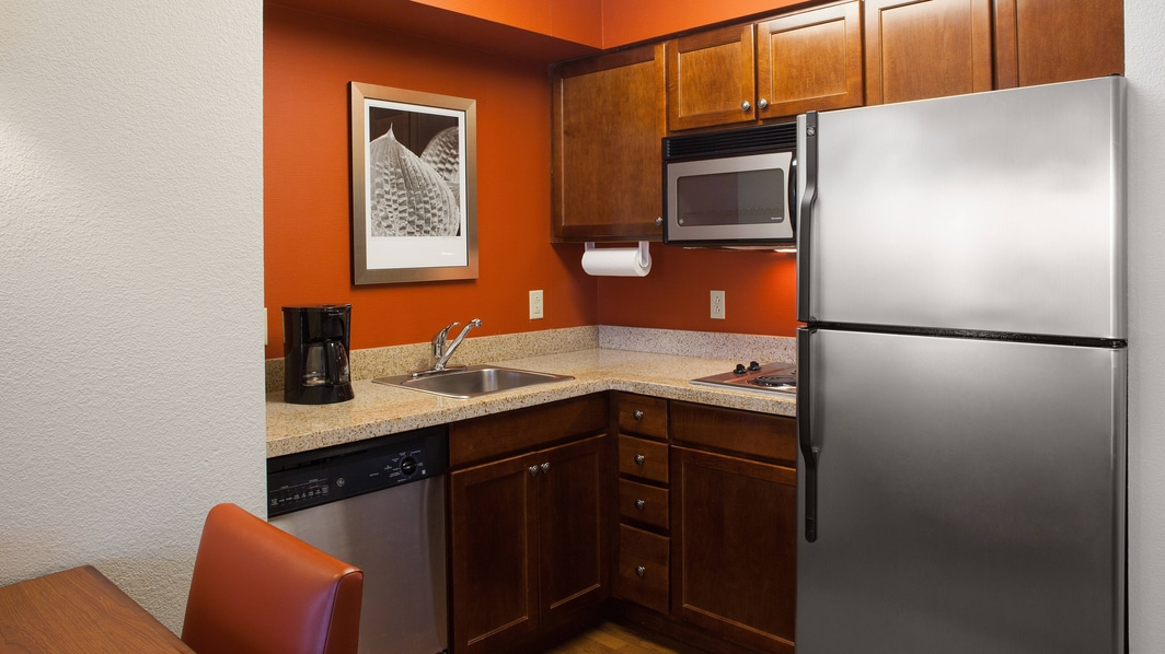 Residence Inn Whitby suite with kitchen