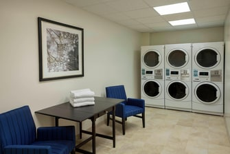 Markham Ontario hotel guest laundry