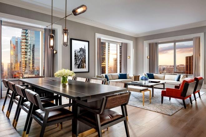John Jacob Astor Suite - Living Area