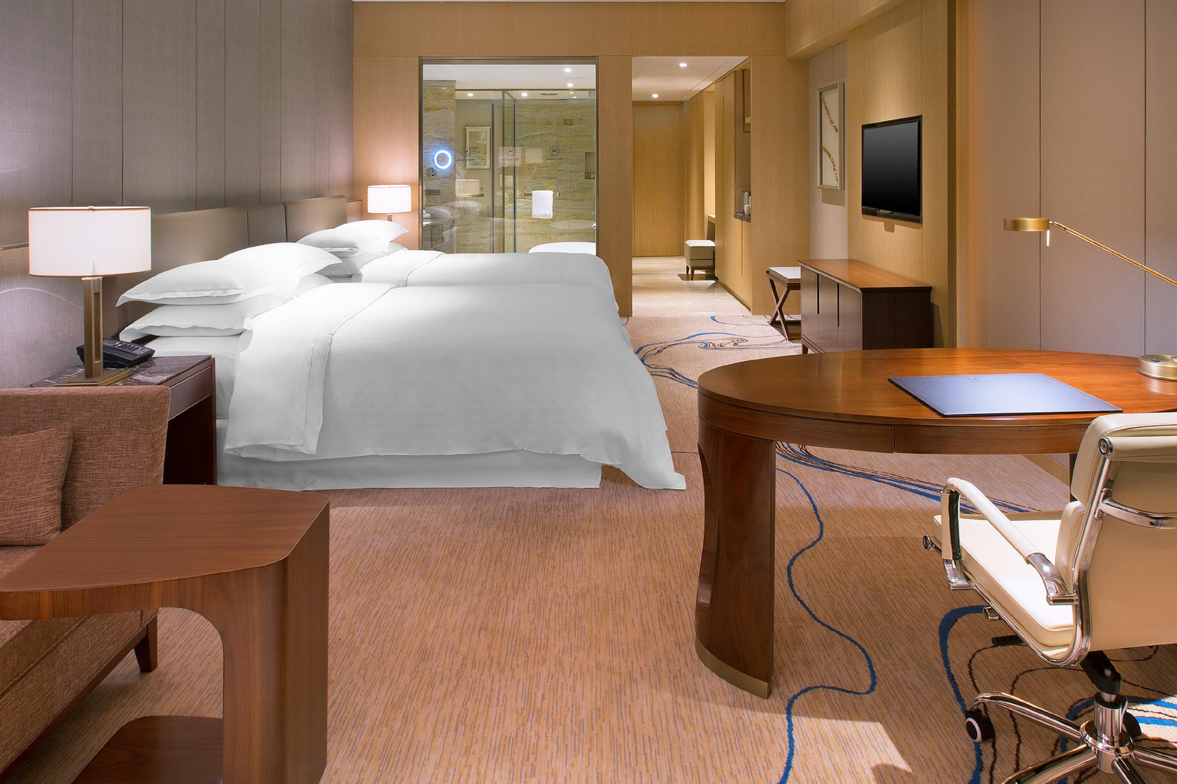 Gästezimmer mit zwei Einzelbetten