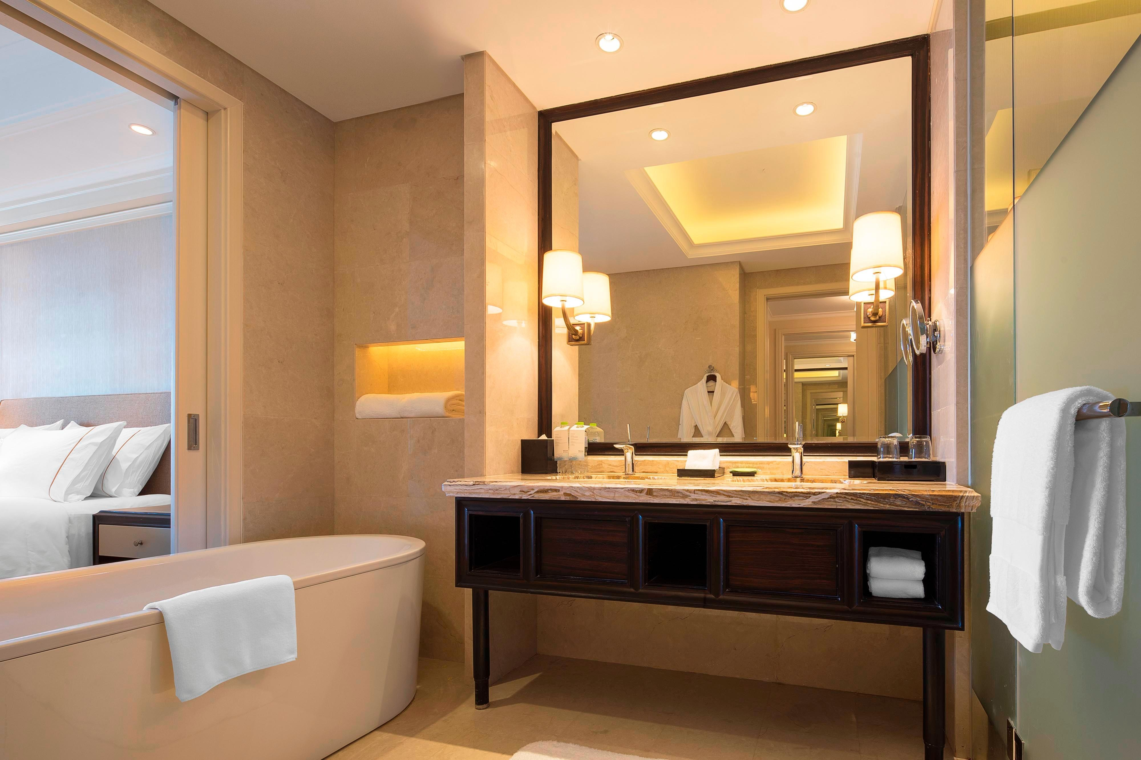 Sea View Room Bathroom