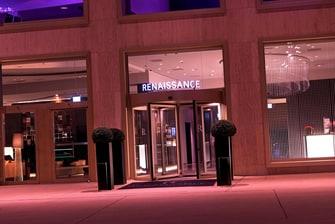 Renaissance Zurich Tower Hotel Entrance
