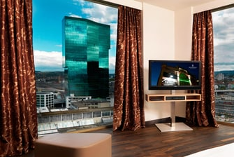 Suite Presidential del Zurich Tower con vista