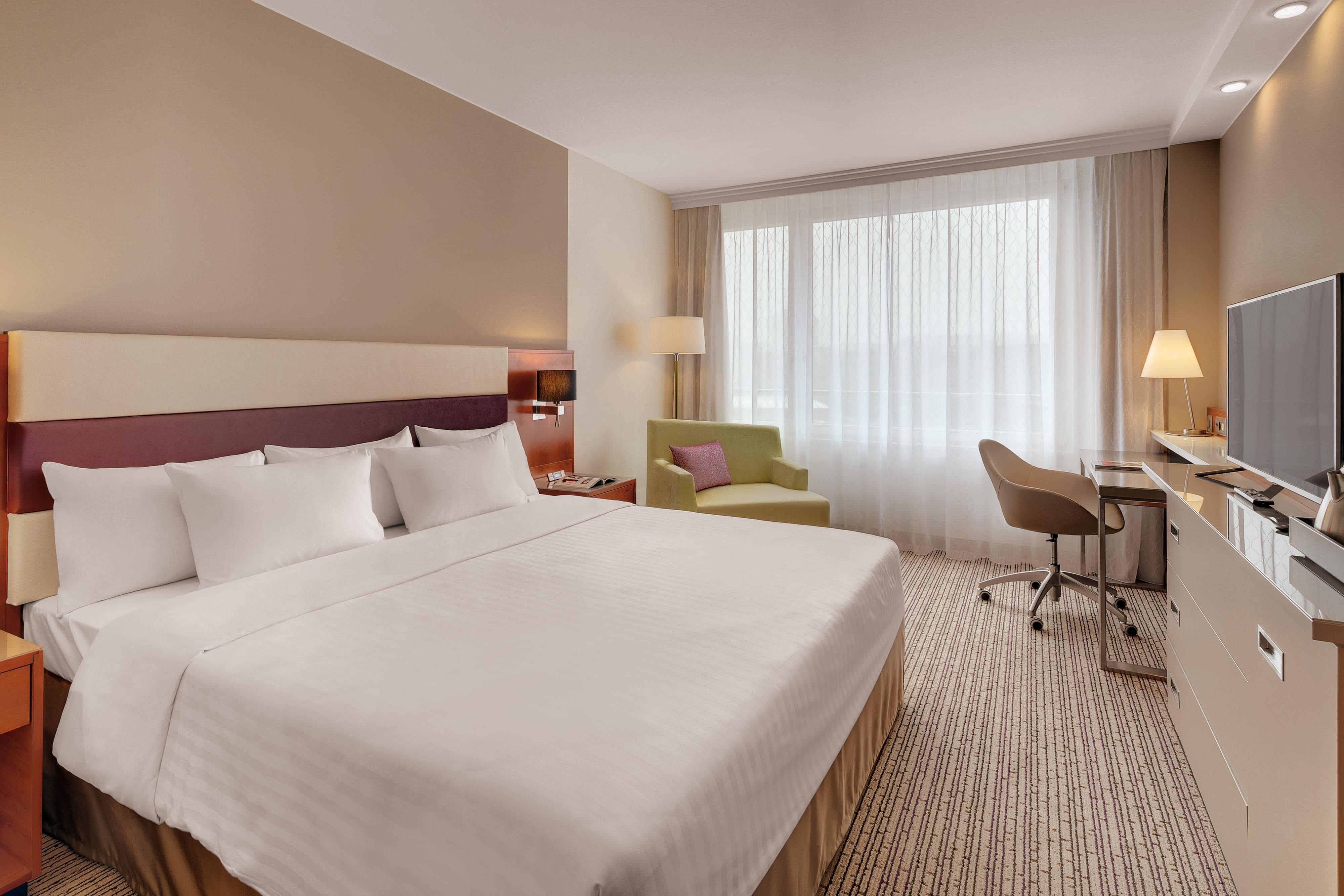 Chambre à l'hôtel Courtyard de Zurich