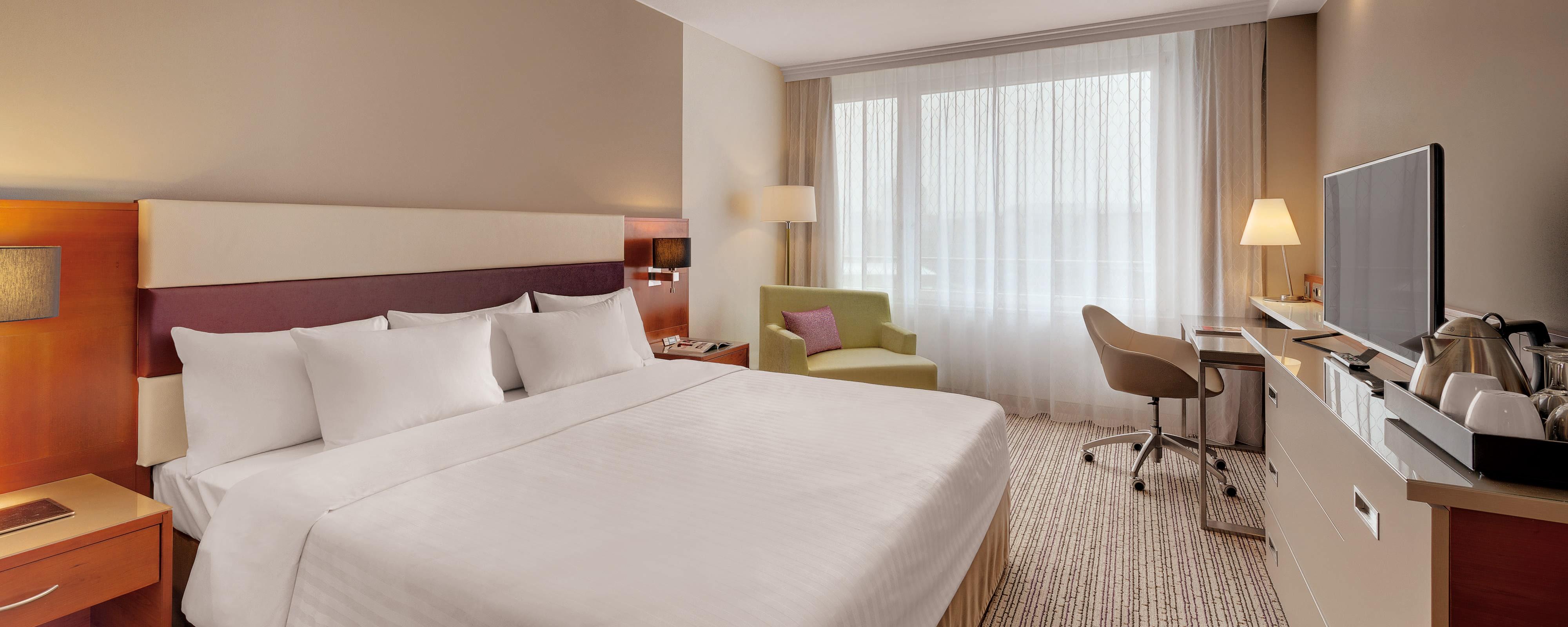 Hotelzimmer im Courtyard Marriott Zürich
