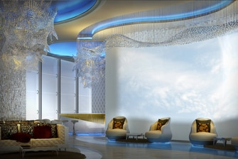 Rendering Iridium Spa Lobby