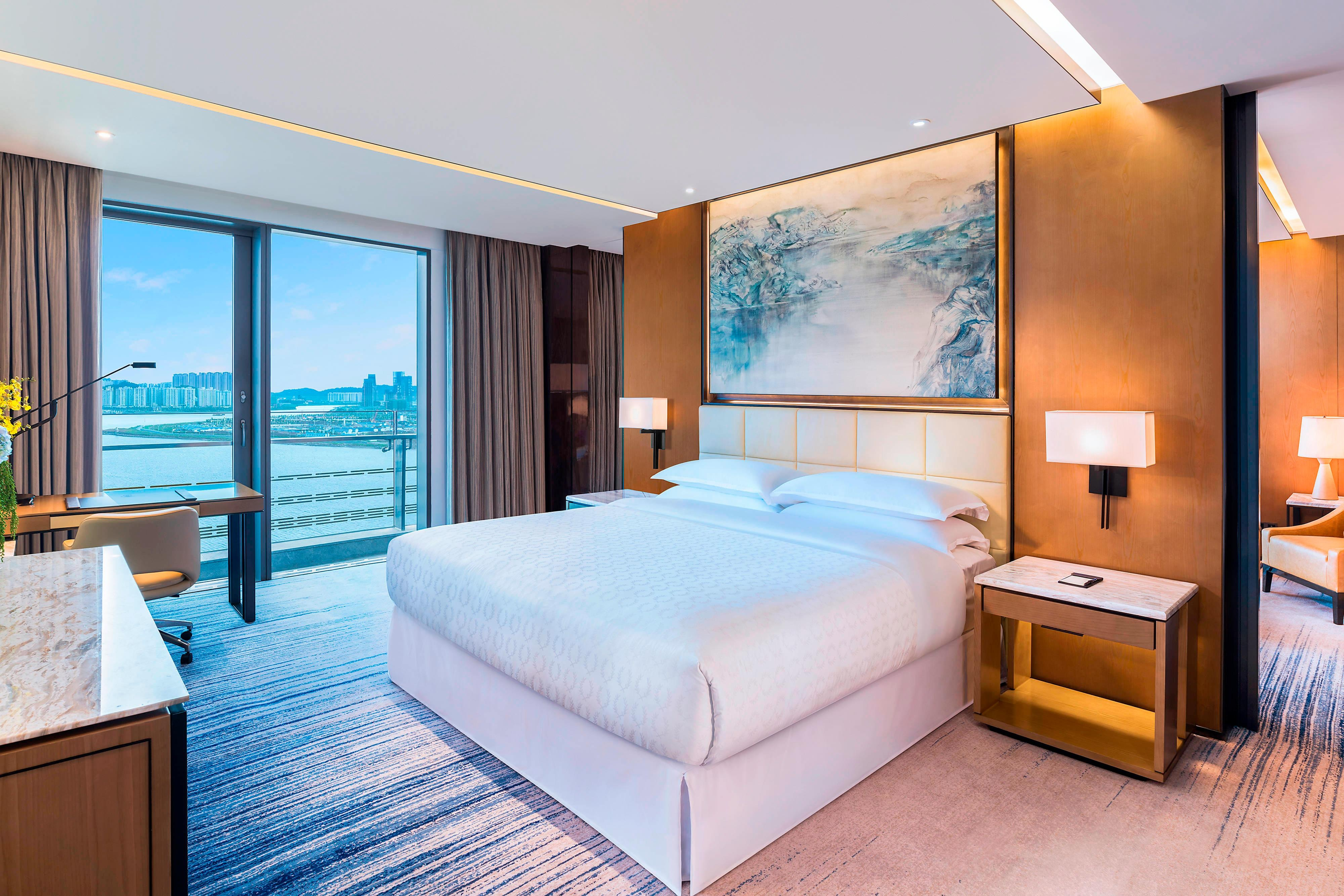 Suite con vistas al mar - Dormitorio