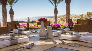 Table Set For Breakfast At JW Marriott Los Cabos Beach Resort Spa Up To