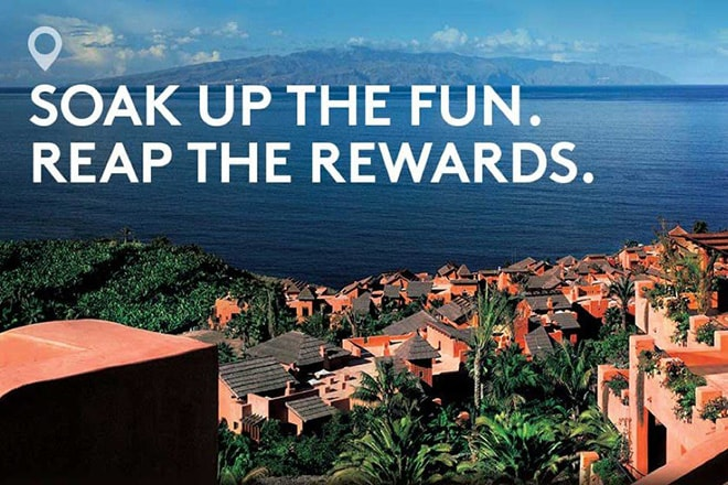 Iscrivetevi a Marriott Rewards